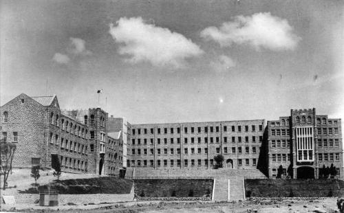1962 학교 전경