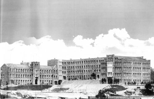 1972 학교 전경