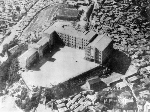 1962 학교 항공사진