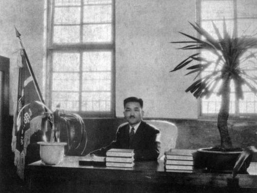 1957 설립자 김영순 교장선생님