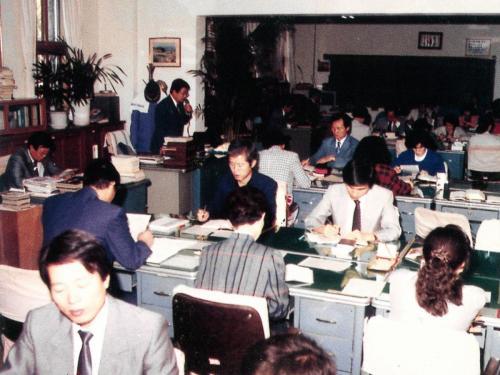 1990 교무실