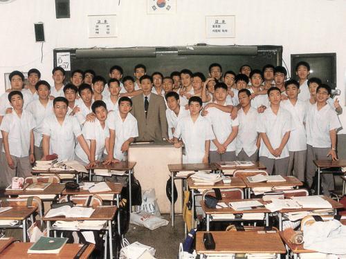 2000 교실에서
