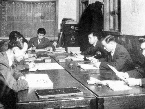 1958 교무실
