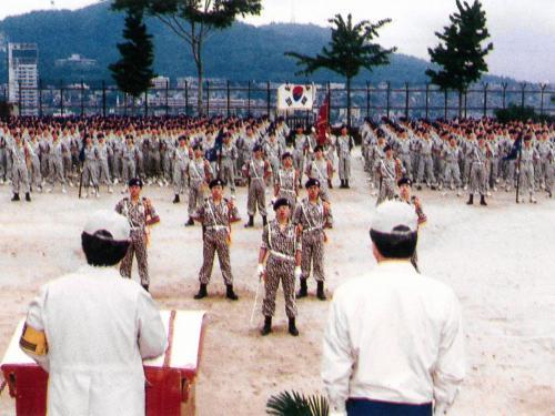 1990 교련검열