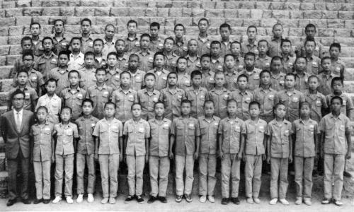 1964 중학생