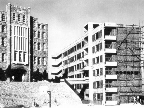 1966 봉학관 건축