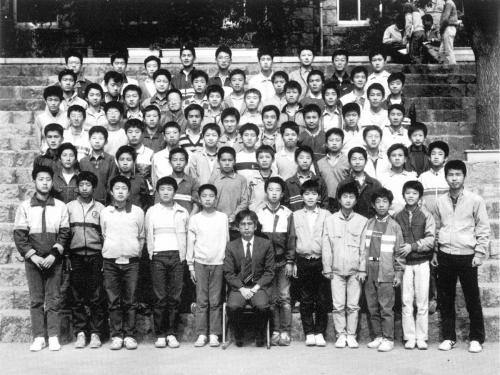 1985 중학교 학급