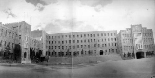 1960 학교 전경