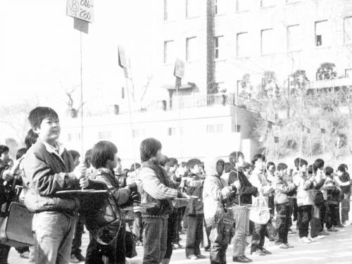 1985 중학교 예비소집