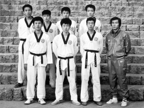 1987 태권도부