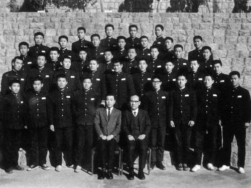 1968 학급 단체사진