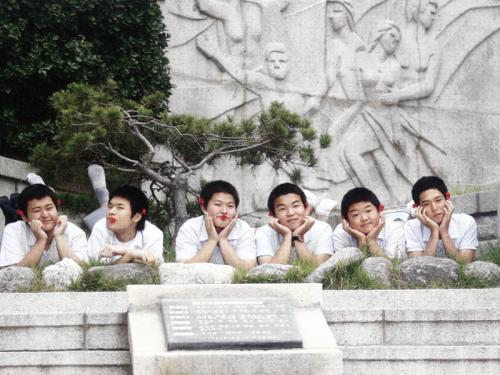 2008 졸업앨범 촬영